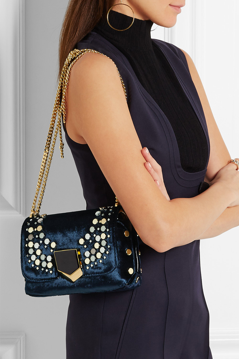 the-bag-freak-jimmy-choo-Lockett-Petite-embellished-velvet-shoulder-bag-right